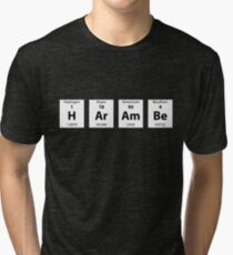 Periodic Table of HArAmBe (Alt) Tri-blend T-Shirt