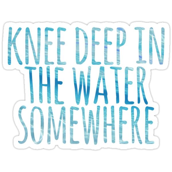 Quot Ocean Quot Stickers By J Elizabeth Redbubble