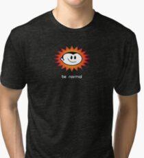 Be Normal: Normal Boy Superstar Tri-blend T-Shirt
