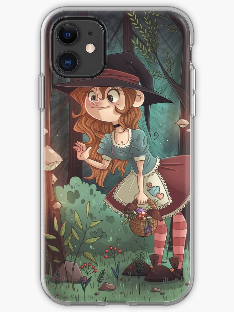 Witches in the Forest iphone case