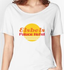 Elsbels Palace Hotel Women's Relaxed Fit T-Shirt