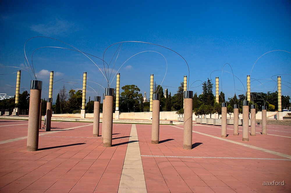 Olympic Park, Barcelona, Spain - 1st Oct 2007 by aaxford