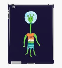 Green Alien  iPad Case/Skin