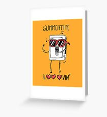 Summertime looovin Greeting Card