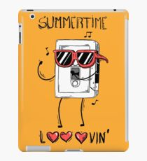 Summertime looovin iPad Case/Skin