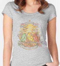 Three Little Birds Women's Fitted Scoop T-Shirt