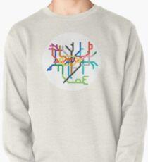 Mini Metro - London, United Kingdom Pullover Sweatshirt