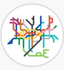 Mini Metro - London, United Kingdom Sticker