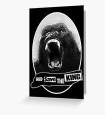 God save the King Greeting Card