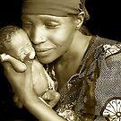 'Mother and child' Northern Rwanda. By Rebecca Zachariah & Melinda Kerr by Melinda Kerr