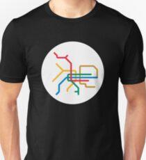 Mini Metro - Taipei, Taiwan Unisex T-Shirt