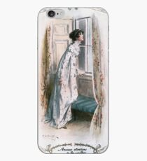 Charles Edmund Brock - Jane Austen Looking Out The Window iPhone Case