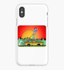 Looks Clear of Zombies iPhone Case