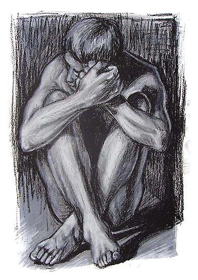 Behold drawing 1 by Paula Stirland