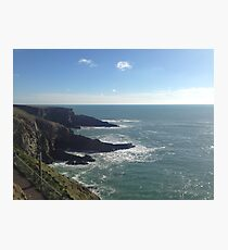 Mizen Head Cork Ireland Water Nature Photographic Print