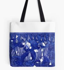 Snail Mail - Waves 2 Tote Bag