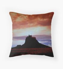 Holy Island...........Northumberland........ Throw Pillow