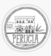 Palazzo dei Priori, Perugia Sticker