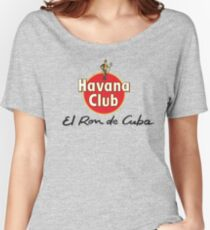 HAVANA CLUB Women's Relaxed Fit T-Shirt