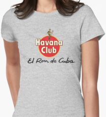 HAVANA CLUB Womens Fitted T-Shirt