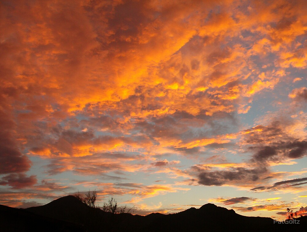 Arizona Sunset by PatGoltz