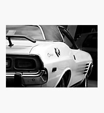 1973 Dodge Challenger - detail Photographic Print