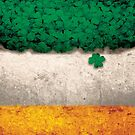 st patrick's day patty's day irish flag by Carl Huber