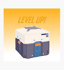 Level up! Photographic Print