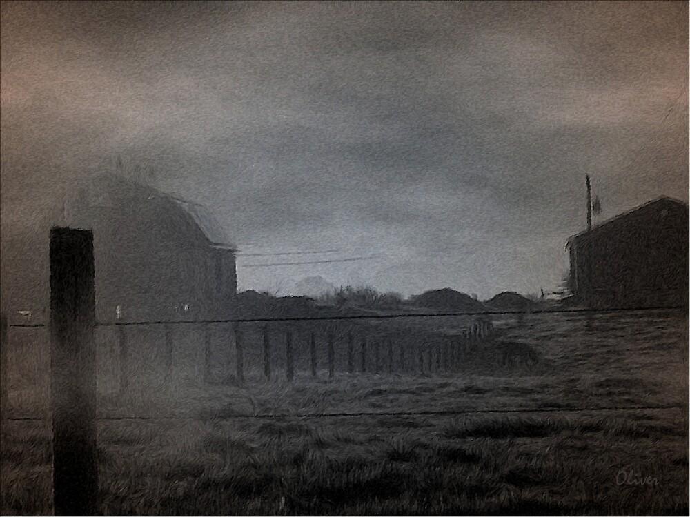 Misty Light by Charles Oliver