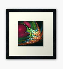 Impassionate Flame Framed Print