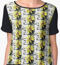 Painted Daisy Women's Chiffon Top