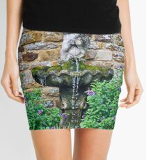 Garden Fountain Mini Skirt