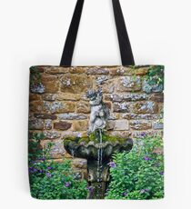Garden Fountain Tote Bag