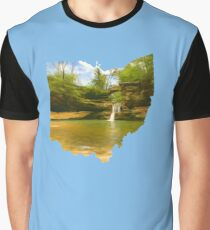 Ohio is home...Old Man's Cave Upper Falls Graphic T-Shirt