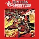Hunters & Monsters by coinbox tees