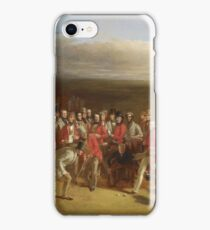 Charles Lees - The Golfers iPhone Case/Skin