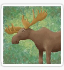 Moose Madness Sticker