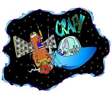 UFO crash by Skree