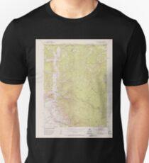 USGS TOPO Map Colorado CO Kings Canyon 401226 1952 24000 T-Shirt