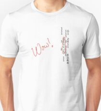Wow Signal SETI Message Unisex T-Shirt