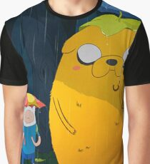 adventure time totoro and finn Graphic T-Shirt