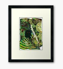 Jungle Monster ! Framed Print