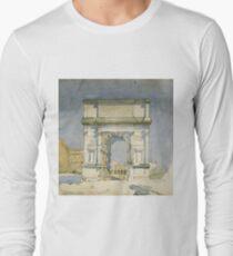 Charles Rennie Mackintosh - Rome, Arch Of Titus Long Sleeve T-Shirt