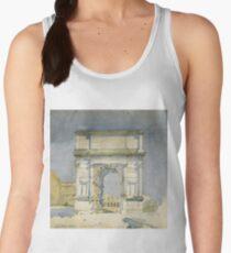Charles Rennie Mackintosh - Rome, Arch Of Titus Women's Tank Top