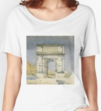 Charles Rennie Mackintosh - Rome, Arch Of Titus Women's Relaxed Fit T-Shirt