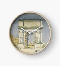 Charles Rennie Mackintosh - Rome, Arch Of Titus Clock