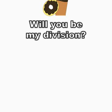 Will You Be My Division? {Coffee and Donut Design} by BBCSPUL