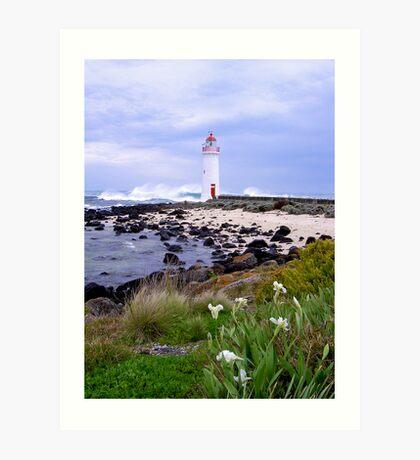 Port Fairy Lighthouse, Victoria, Australia Art Print