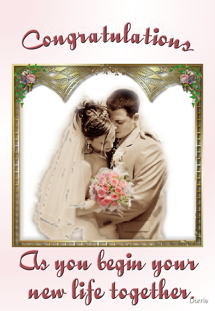 Wedding Card by Dorrie