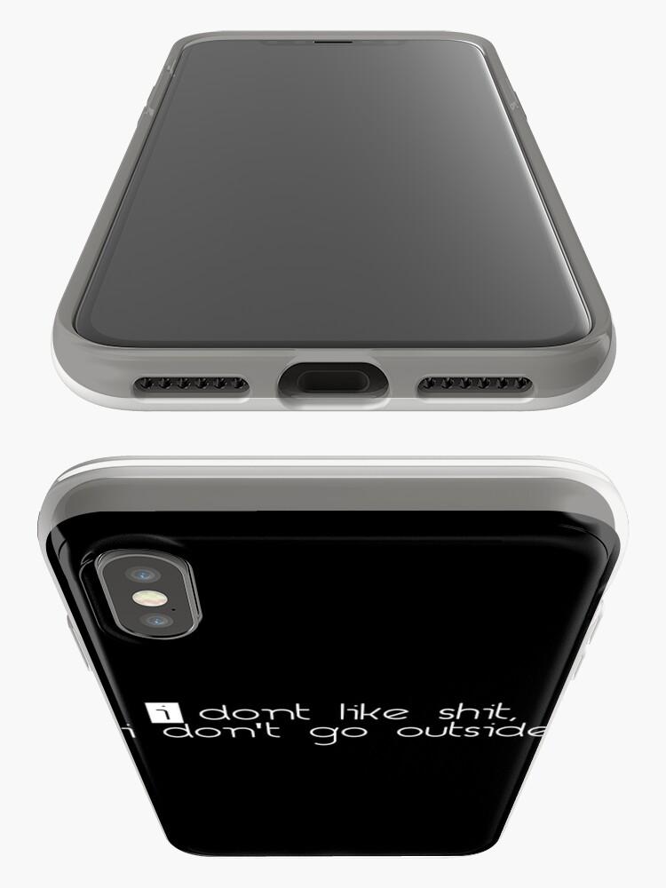 Alternative Ansicht von Ich mag keine Scheiße iPhone-Hülle & Cover